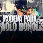 Backstage Modena Park con Paolo Bonolis